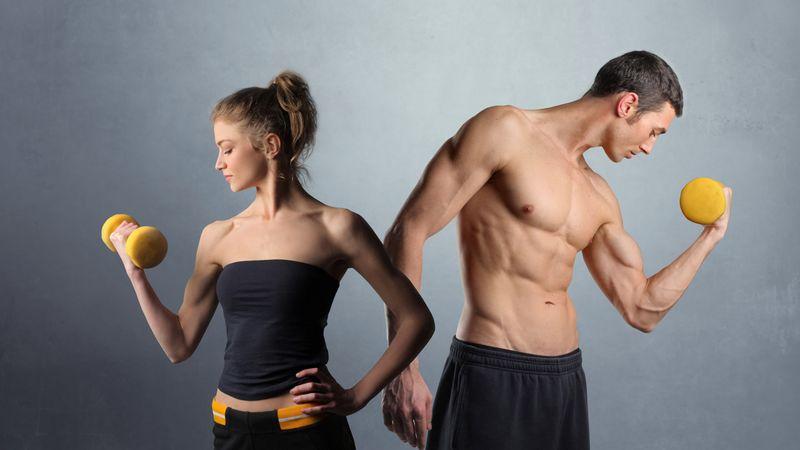 Основные отличия женских и мужских силовых тренировок