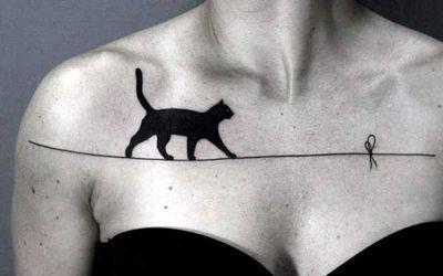 Черно-белые татуировки
